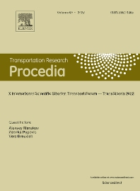 cover of Transportation Research Procedia