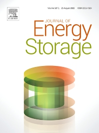 Cover image for Journal of Energy Storage