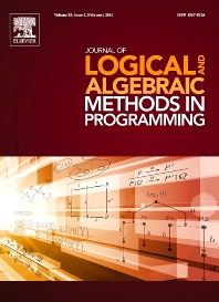 Cover image for Journal of Logical and Algebraic Methods in Programming