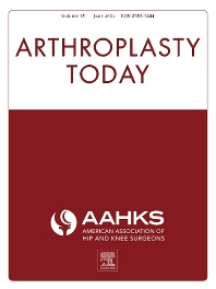 Cover image for Arthroplasty Today