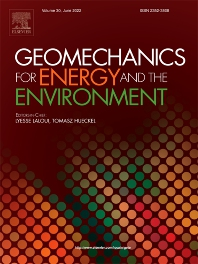 Cover image for Geomechanics for Energy and the Environment