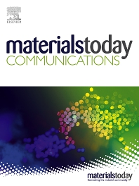 Cover image for Materials Today Communications