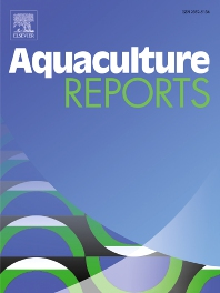 Cover image for Aquaculture Reports