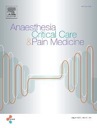 Cover image for Annales Françaises d'Anesthésie et de Réanimation