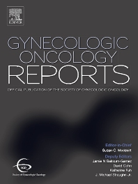 Cover image for Gynecologic Oncology Reports