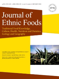 Cover image for Journal of Ethnic Foods