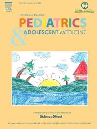 cover of International Journal of Pediatrics and Adolescent Medicine