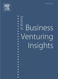 Cover image for Journal of Business Venturing Insights