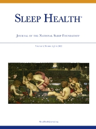 Sleep Health - ISSN 2352-7218