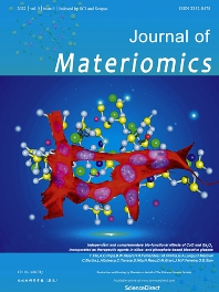 Cover image for Journal of Materiomics