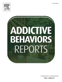 Cover image for Addictive Behaviors Reports
