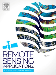Cover image for Remote Sensing Applications: Society and Environment