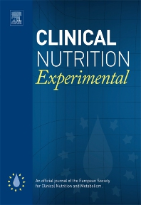 Cover image for Clinical Nutrition Experimental