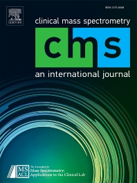 Cover image for Journal of Mass Spectrometry and Advances in the Clinical Lab