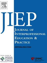 Cover image for Journal of Interprofessional Education & Practice