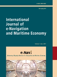cover of International Journal of e-Navigation and Maritime Economy