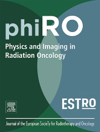 Cover image for Physics and Imaging in Radiation Oncology