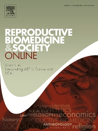 Cover image for Reproductive Biomedicine & Society Online