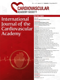 Cover image for International Journal of the Cardiovascular Academy