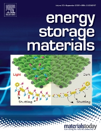 cover of Energy Storage Materials
