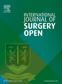 Cover image for International Journal of Surgery Open