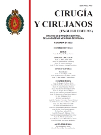 Cover image for Cirugía y Cirujanos (English Edition)