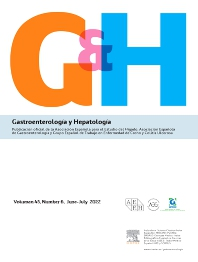 Cover image for Gastroenterología y Hepatología (English Edition)