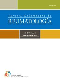 Cover image for Revista Colombiana de Reumatología (English Edition)