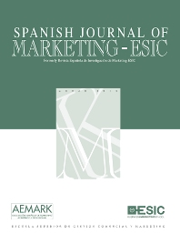 Cover image for Spanish Journal of Marketing - ESIC