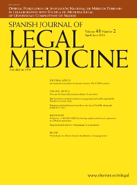 Cover image for Spanish Journal of Legal Medicine
