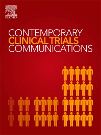 Cover image for Contemporary Clinical Trials Communications