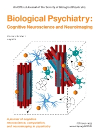 Cover image for Biological Psychiatry: Cognitive Neuroscience and Neuroimaging