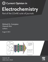 cover of Current Opinion in Electrochemistry