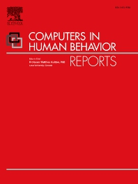 Cover image for Computers in Human Behavior Reports