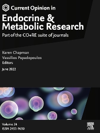 Cover image for Current Opinion in Endocrine and Metabolic Research