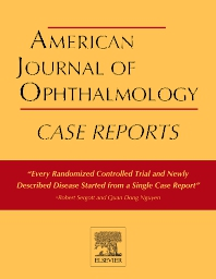 Cover image for American Journal of Ophthalmology Case Reports
