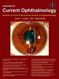 Cover image for Journal of Current Ophthalmology