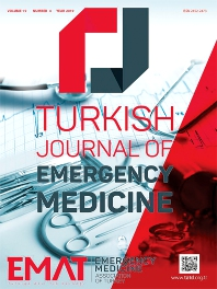 Cover image for Turkish Journal of Emergency Medicine