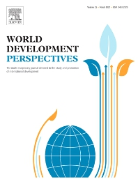 World Development Perspectives - ISSN 2452-2929