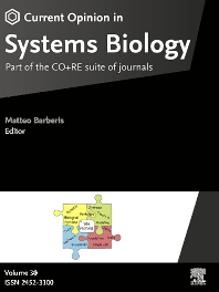 Cover image for Current Opinion in Systems Biology