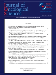 Cover image for Journal of Oncological Sciences