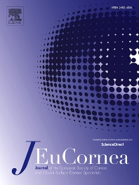Cover image for Journal of EuCornea