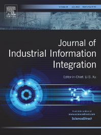Cover image for Journal of Industrial Information Integration