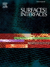 Surfaces and Interfaces - ISSN 2468-0230