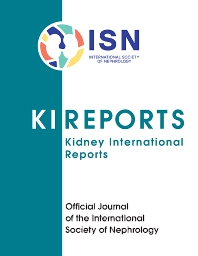 Cover image for Kidney International Reports
