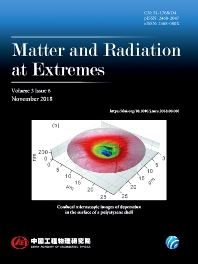 Cover image for Matter and Radiation at Extremes