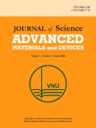 Cover image for Journal of Science: Advanced Materials and Devices