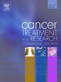 Cover image for Cancer Treatment and Research Communications