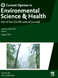Cover image for Current Opinion in Environmental Science & Health