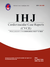 Cover image for IHJ Cardiovascular Case Reports